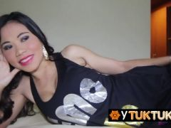 Insanely hot asian brunette ready to blow a hard cock