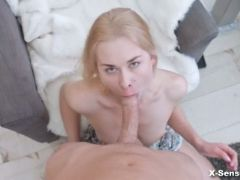 Spectacular erotic debut