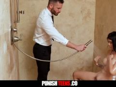 Brenna sparks asian schoolgirl punished