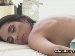 Hotwife pounded by new tenants big black cock