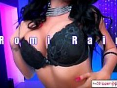 The stripper experience romi rain suck your big dick in the champagne room