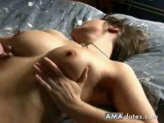 Short haired mature slut