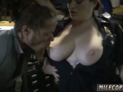 German milf sweat first time chop shop owner gets shut down