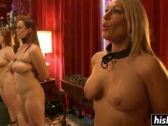 Kinky sluts are into some domination