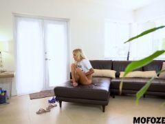 Naomi woods in sneaks home mastubating