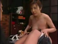 Japanese milf stepmom seduces her young boy pt on hdmilfcam com