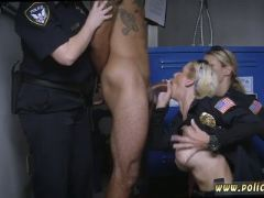 Dual blowjob don t be dark hued and suspicious around black patrol cop