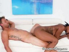 Ebony vixen harley dean loves fiances big cock