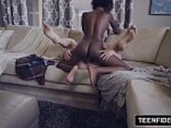 Teenfidelity ebony teen daizy cooper filled with cum