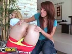Bangbros two hot pawg pornstars lizzie tucker and hollie stevens getting down