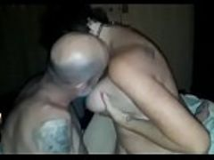 Husband films wife riding strangers big cock