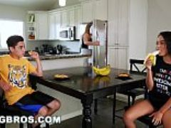 Bangbros black step sister maya bijou fucks brother juan el caballo loco