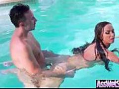 Nikki benz big oiled ass slut girl love hardcore deep anal sex clip