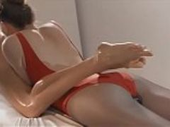 Hot sensual lesbian massage by twins watch more at