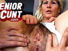Milf beate pussy close ups and weird old pussy widening games