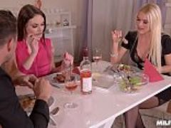 Horny milf dinner with kitana lure